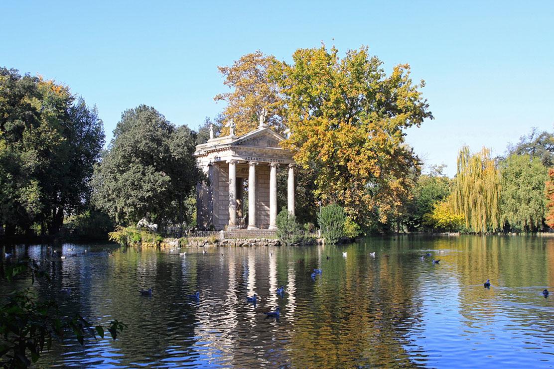 Aesculapius Temple, Borghese area, Rome