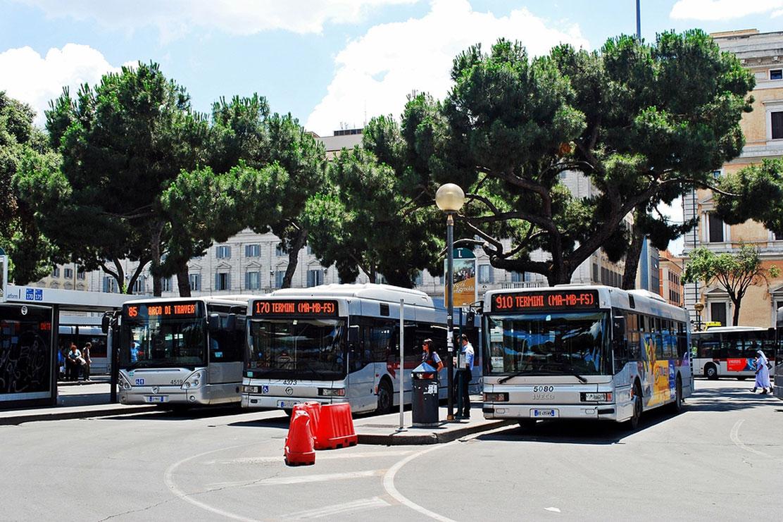 Rome city Termini station
